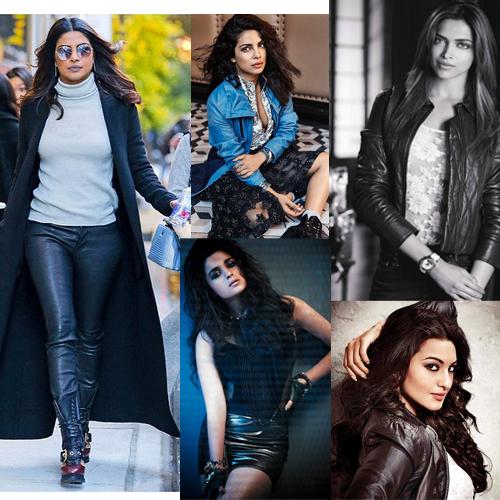 Bollywood सेलेब्स का Leatherबना Fashion