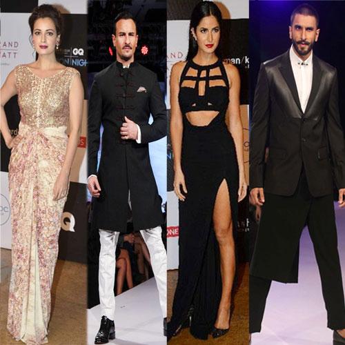 Bollywood सेलिब्स का GQ फैशन Nights
