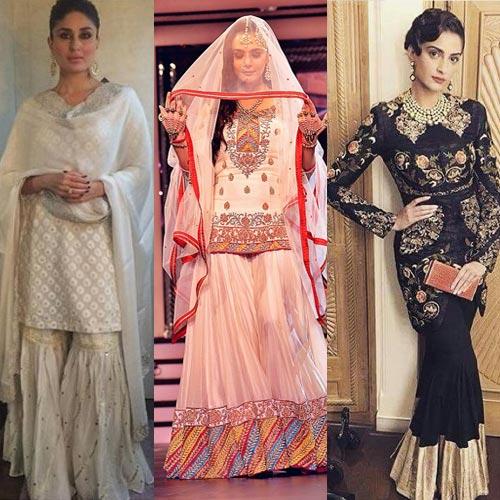 Fashion diaries:बॉलीवुड दीवास दिखीं शरारा में....