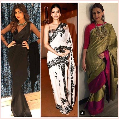 फैशन:सोनाली, शिल्पा से लेकर डायना तक नजर आई नजाकत में लिपटी....