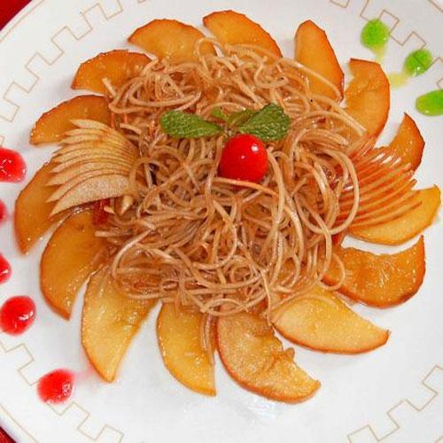घर में बनाएं फ्रूटी हनी नूडल्स
