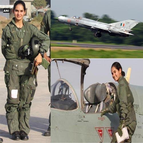 मिग-21 उडाने वाली पहली भारतीय महिला बनीं अवनी चतुर्वेदी