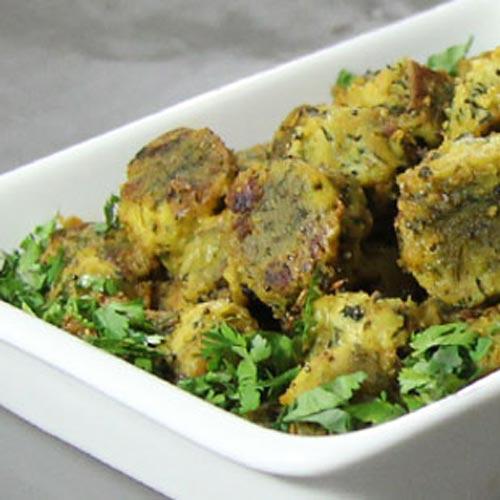 लाजवाब स्वाद में तुरंत तैयार मेथी के गट्टे की...सब्जी