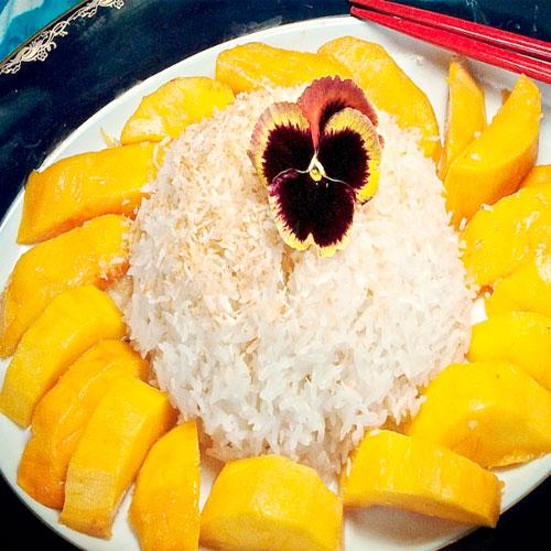 लजीज आम के मीठे चावल-Mango Rice