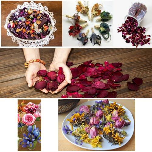 सूखे फूलों से: घर में एक अलग व नया लुक