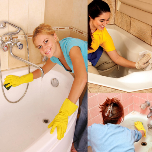 आसान तरीका बाथटब को चमकाने का