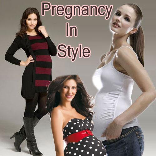 Stylish Look के साथ करें Pregnancy को Enjoy