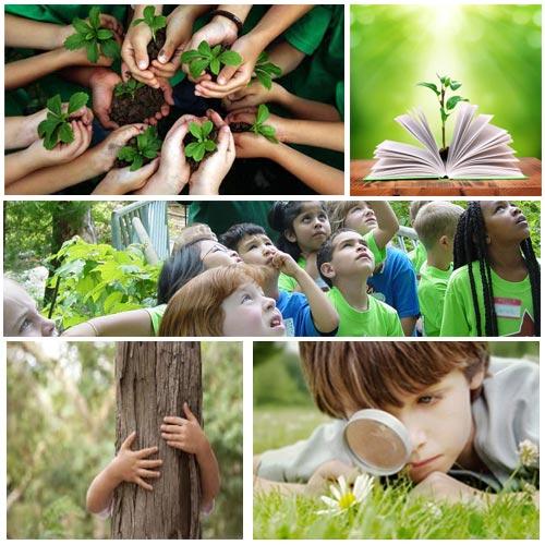 किताबी ज्ञान के साथ-साथ... पर्यावरण का पाठ
