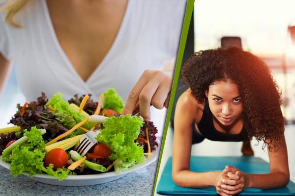 व्यायाम करने और कम कैलोरी वाले आहार से महिलाओं को...