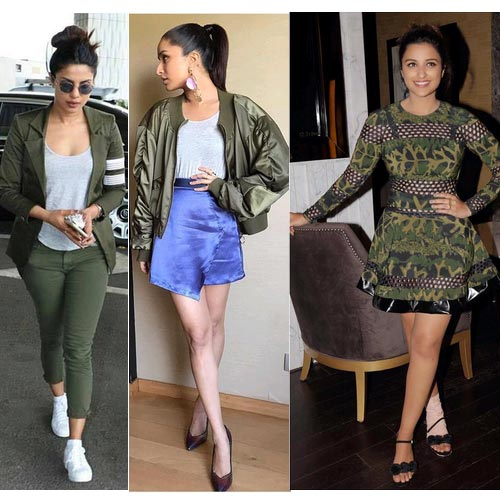 Fashion Trends में military लुक की मांग