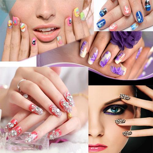 Nail art नाखूनों का फैशन Trends