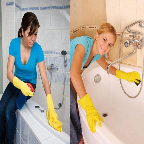 बाथटब की सफाई के लिए अपनाएं प्राकृतिक उपाय