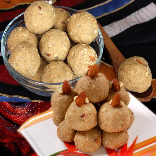 स्वाद से भरे आटे के लड्डू-Atta Ladoo