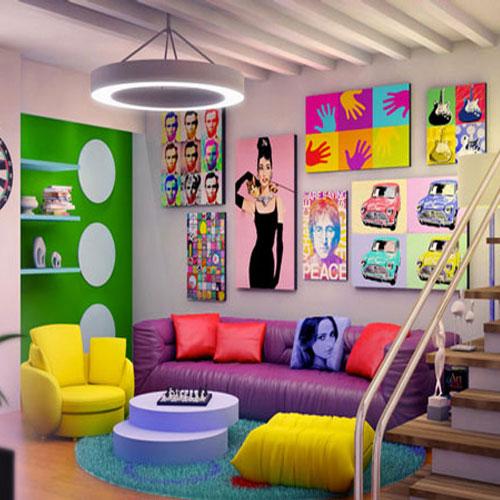 घर को सजाएं खूबसूरत रंगों से और आशियाने को दें न्यू लुक