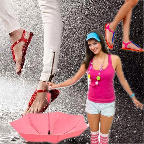 बारिश के मौसम न्यू फैशन मंत्र से पाएं, परफेक्ट लुक
