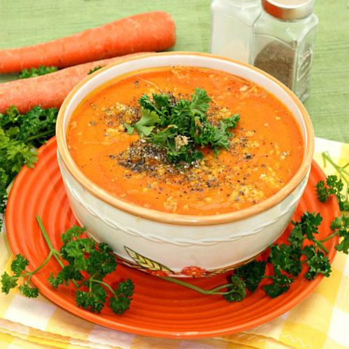 सर्दी-जुखाम में राहत दिलाये अदरक व गाजर का सूप-Ginger and carrot soup