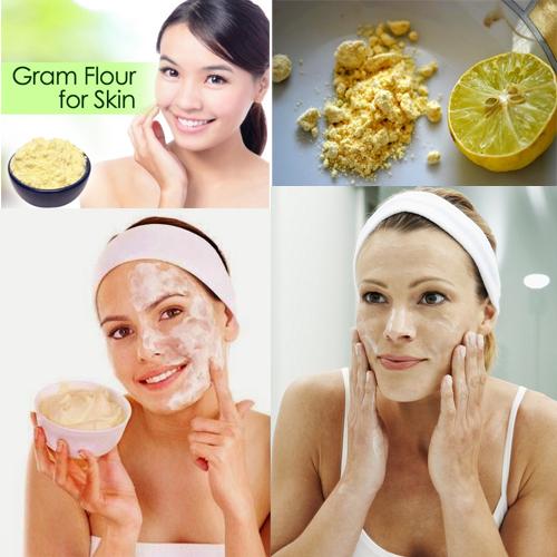 बेसन त्वचा को बनाएं खूबसूरत व बेमिसाल