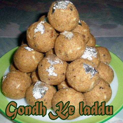 सर्दियों में खाएं गोंद के लड्डू-Gondh Ke Ladoo