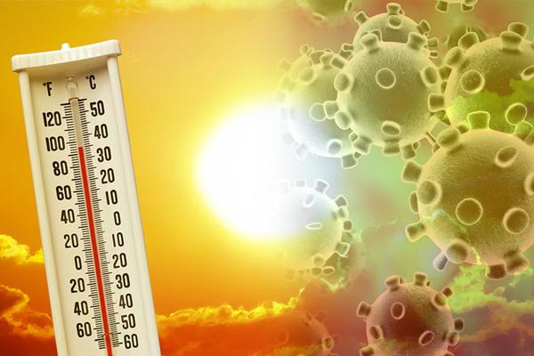 भारत में कोरोना के प्रसार पर लगाम लगा सकती है तेज गर्मी