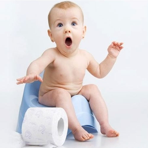 Baby Constipation के कुछ घरेलू उपाय