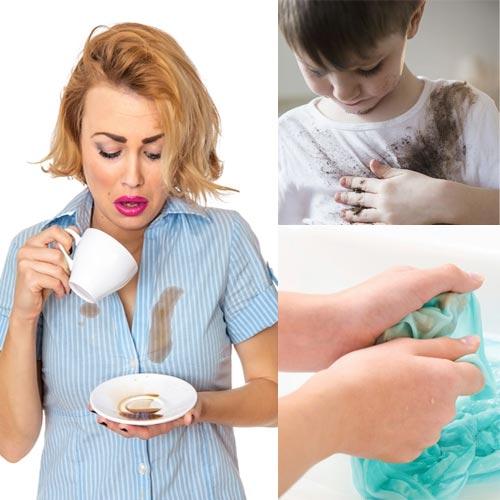 घरेलू उपचार से कपडों के जिद्दी दाग से पांए निजात