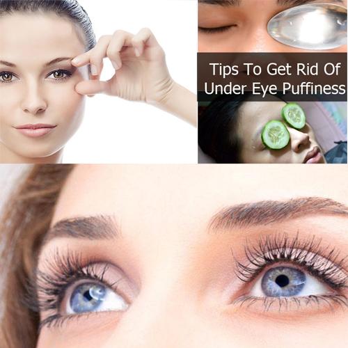 होम टिप्स:आंखों के नीचे से सूजन से पाएं छुटकारा