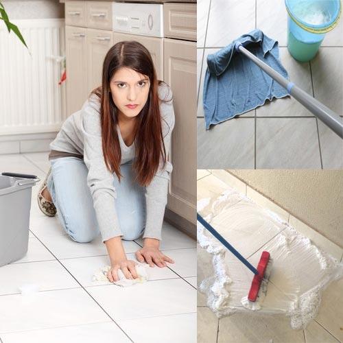 घरेलू उपचार: अब झटपट चमकाएं घर की टाइल्स..