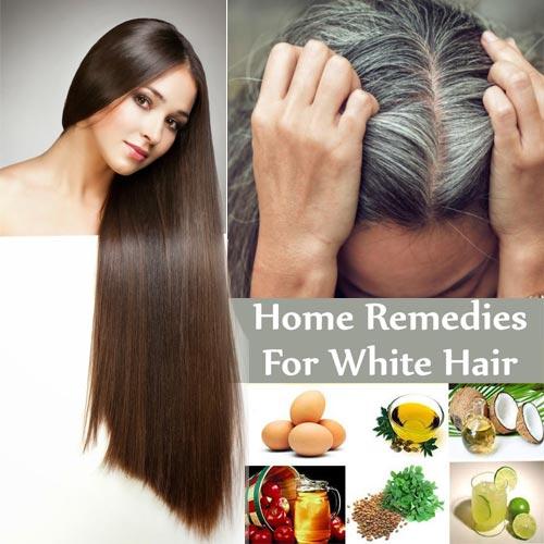 घरेलू ट्रीटमेंट आजमाएं:सफेद बालों को करें काला