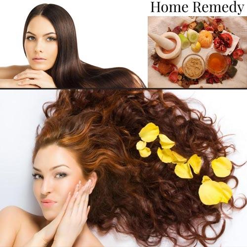घरेलू उपाय: घने और चमकदार बाल