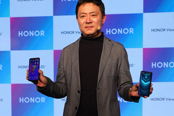 ऑनर व्यू20 स्मार्टफोन अमेजन पर लांच