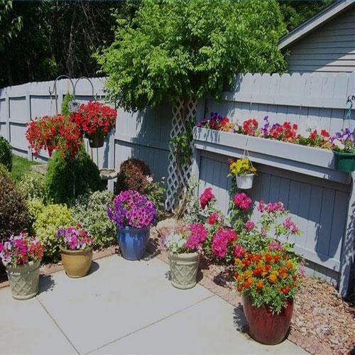 How to easy tips terrace garden decoration decor world for Simple terrace garden