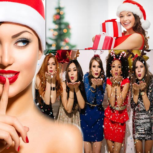 क्रिसमस पार्टी: ग्लैमर ड्रेस में आप नजर आयें फिट