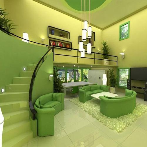 घर में हरे रंग के कई लाभ...
