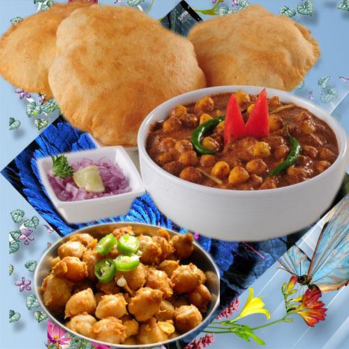 स्वादिष्ट छोले और नन्हे आलू मिक्स-Aloo with Chole recipe