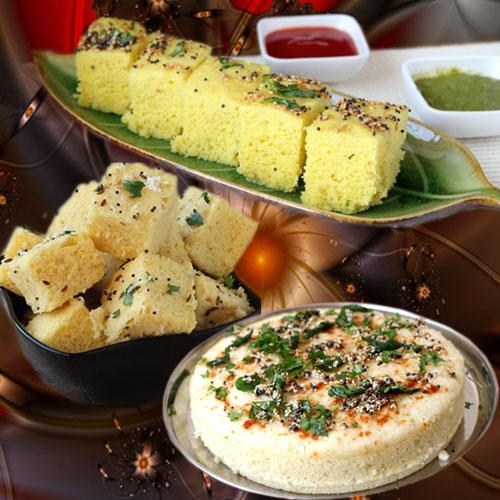टेस्टी राइस ढोकला रेसिपी...- Rice Dhokla