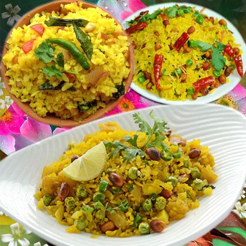 स्वादिष्ट टेस्ट में वेजीटेबल पोहा- Vegetable Poha