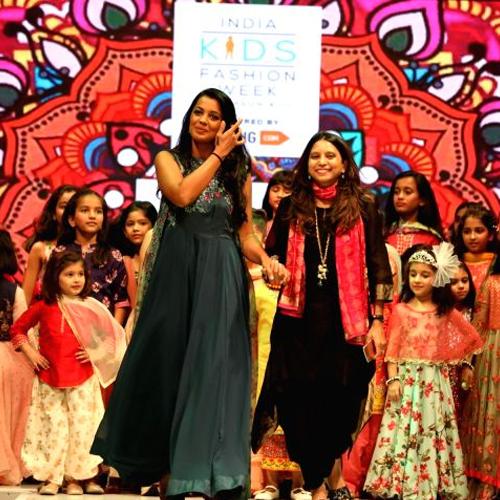इंडिया किड्स फैशन वीक में बच्चों ने बिखेरा जलवा
