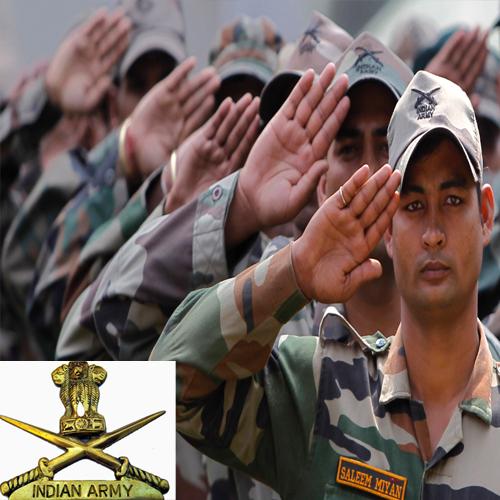 भारतीय सेना में करना चाहते हैं नौकरी, यहां है मौका