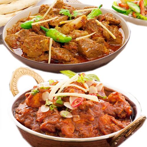 कडाही मटन मसालेदार स्वाद में-Kadai Mutton
