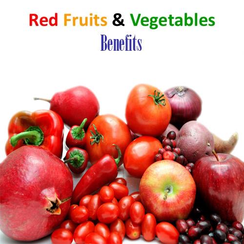 क्या आप जानते हैं लाल फल व सब्जियों के गुणों के बारे में