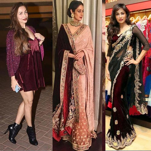Latest Fashion Trend In Velvet Cloth Fashion Fever Tips In Hindi