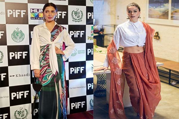 महिरा खान के knotted shirt स्टाइल को आप भी करें इस तरह फॉलो...