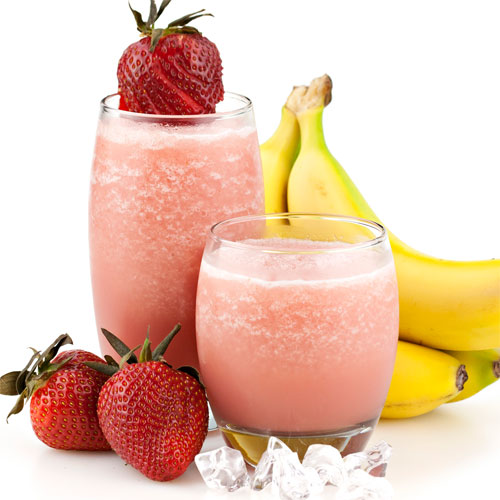 बनाना स्ट्रॉबेरी स्मूदी रेसिपी Banana strawberry recipes