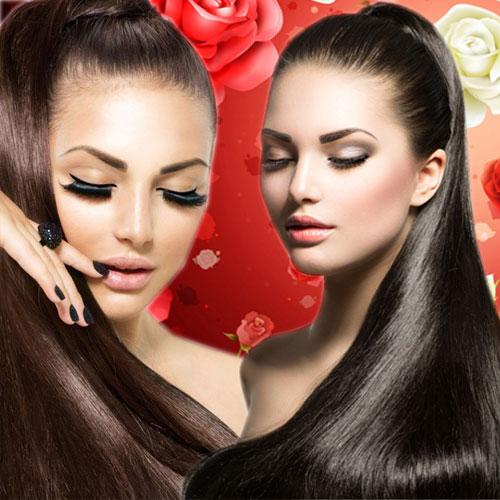 बालों को चमकदार और खूबसूरत बनाता है...