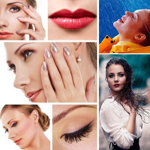 Makeup tips :बारिश की बौछार में हर अदा और भी दिलकश
