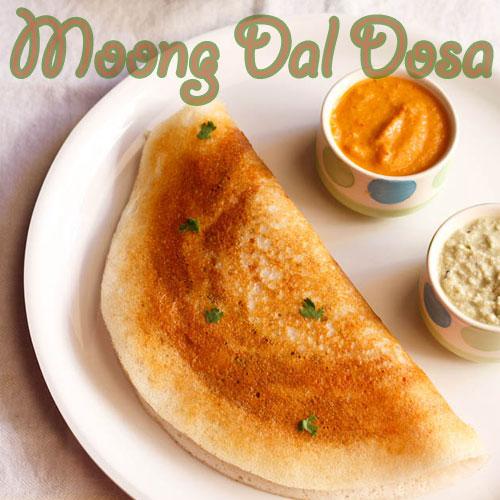 मूंग दाल का डोसा Moong Dal Dosa