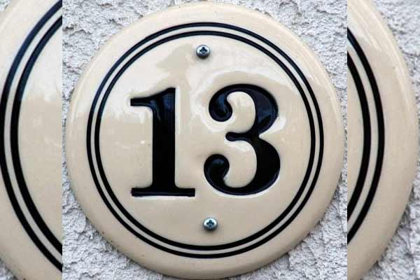अंक 13 का रहस्य