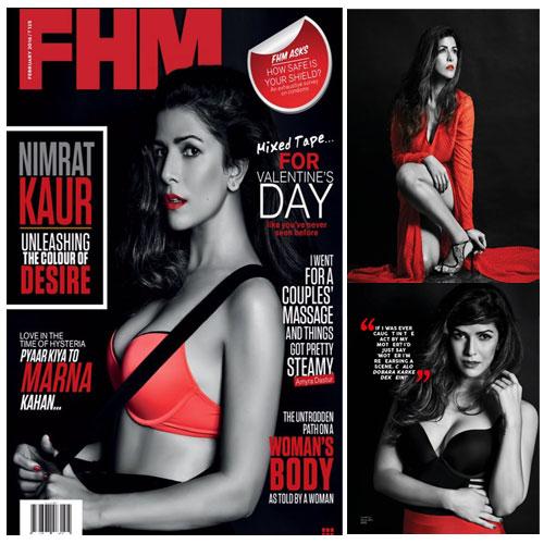 2016 FHM के लिए निमरत का सिजलिंग फोटोशूट