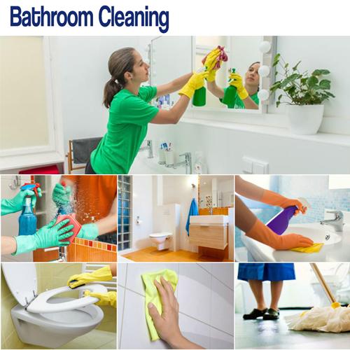 सिर्फ 5 Minutes में बाथरूम साफ