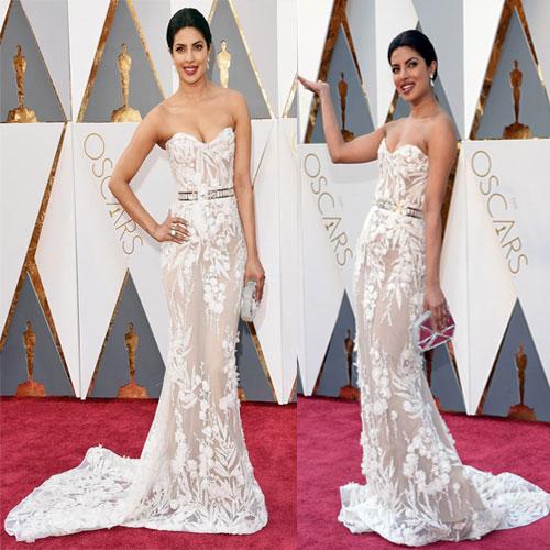 Oscars:प्रियंका का Red कारपेट पर Newअवतार